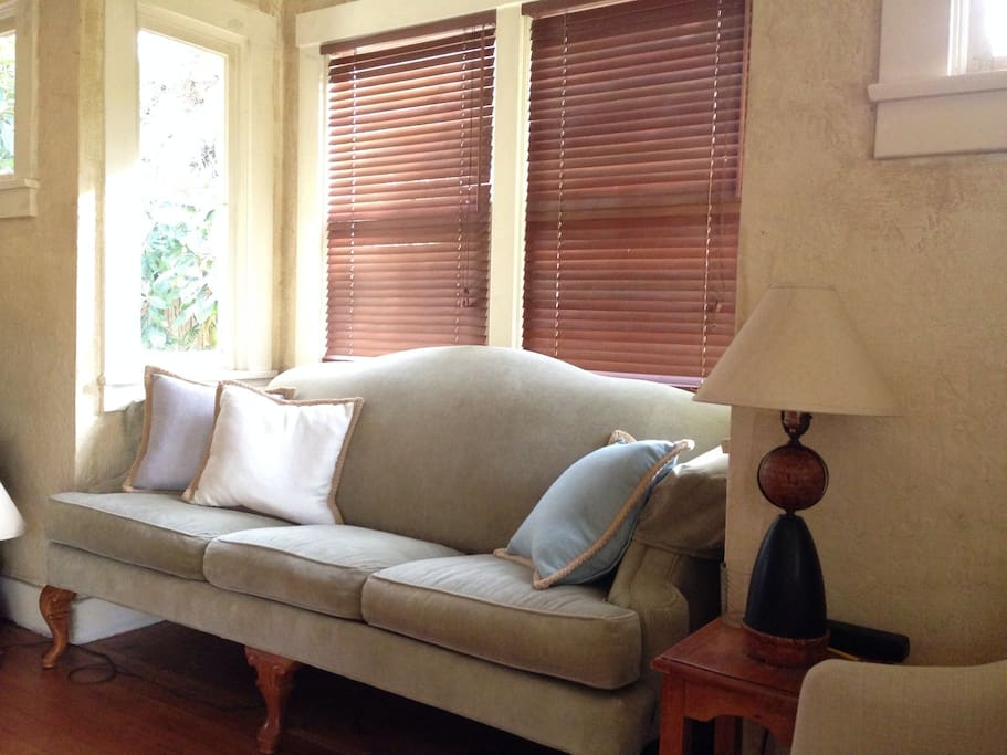 2015 Living room upgraded furniture! Linen details and new couch and chairs!!