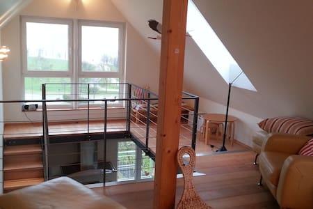 Seeblick Wohnung auf 2 Etagen, 2 SZ - Lägenhet
