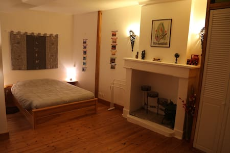 Chambre 2 lits double salle de bain - Ifs