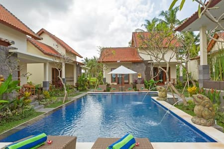 sisin ubud view bungalows the great rice views - Bungalow
