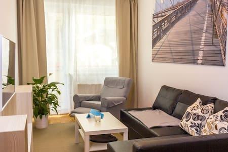 Apartment ruhig und schön im Zentrum - Appartement