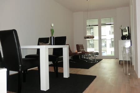 Design-apartment in quiet area near city center - Selveierleilighet