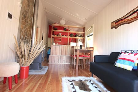 Double twin room * Shared chalet - Malalcahuello - House