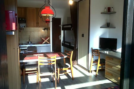 Studio in Les Brasses Ski Station - Byt