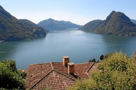 Studio with view-Monte Bré (Lugano) - Wohnung