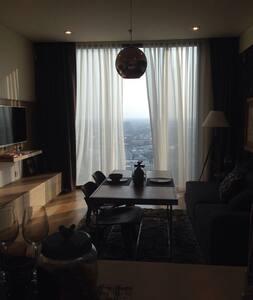 35th flr infinity pool & river view - Yannawa - Apartment