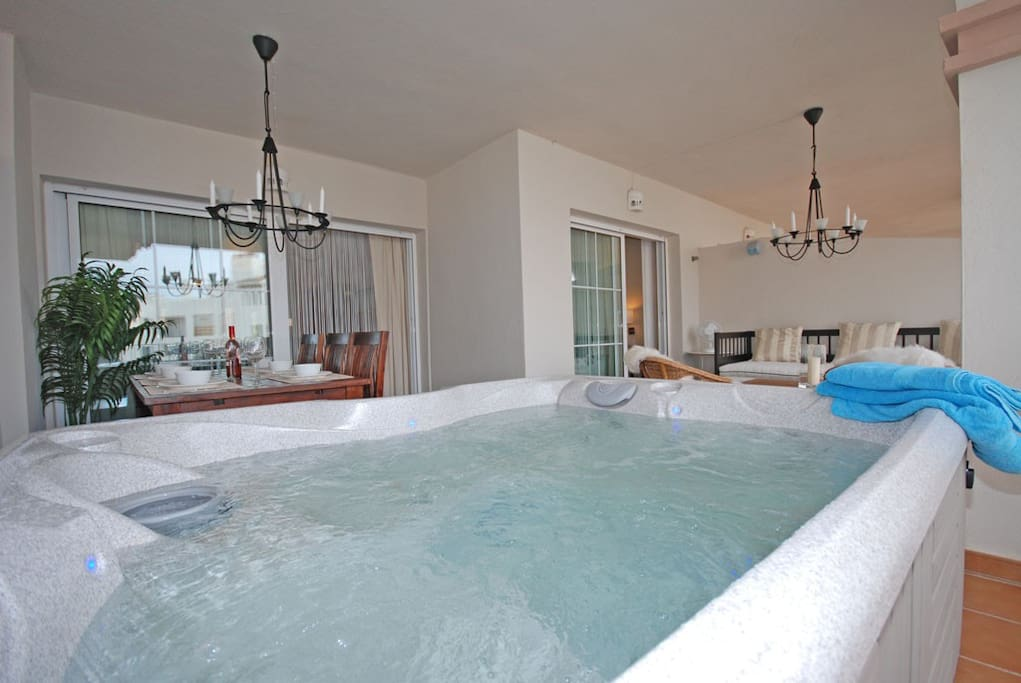 Your own private Jacuzzi on the terrace