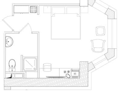 Apartment (@Home Apt) #2 - Almaty - Apartment