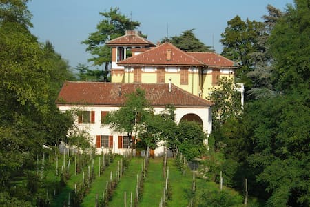Beautifull historic hill villa - Asti