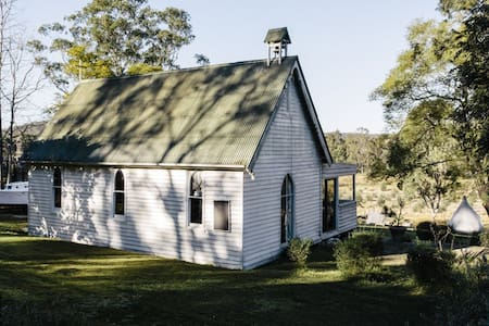 1880's Church on the Colo river - House