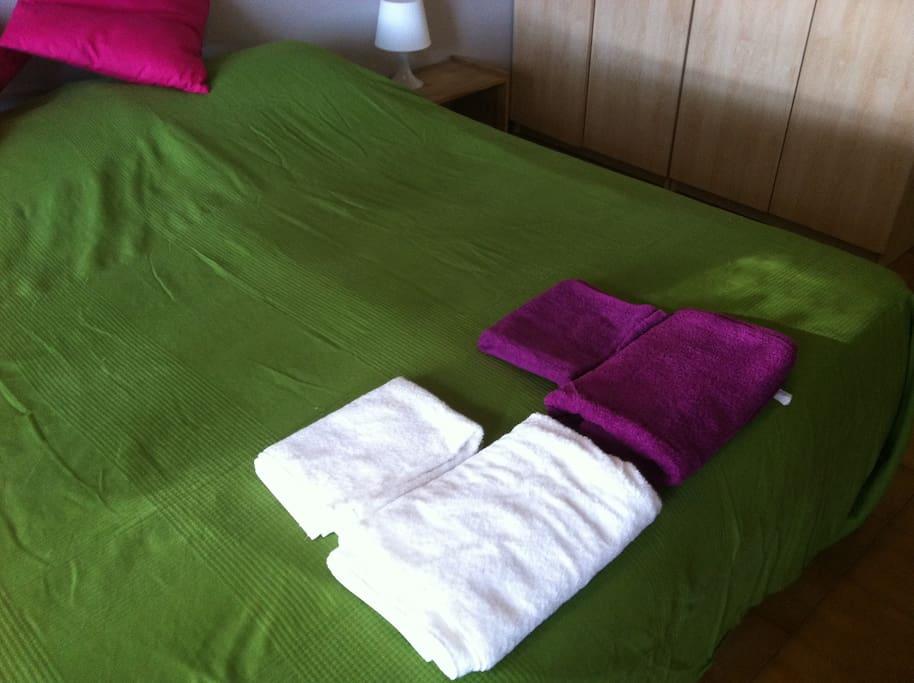 ROME single/doubleroom/private bath