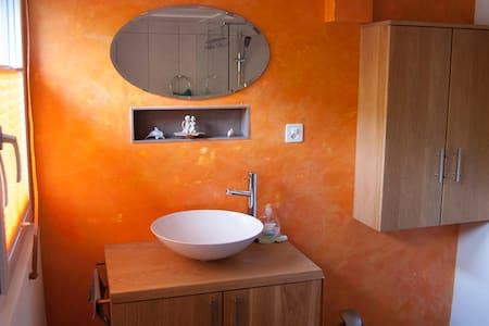 Wohnung in Appenzeller Bauernhaus am Südhang. - Appartement