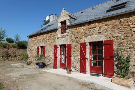 Longère rénovée en bord de Vilaine - Béganne - Huis