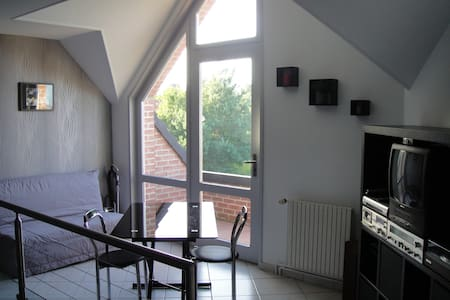 chambre standing proche Saint-Omer - Rumah