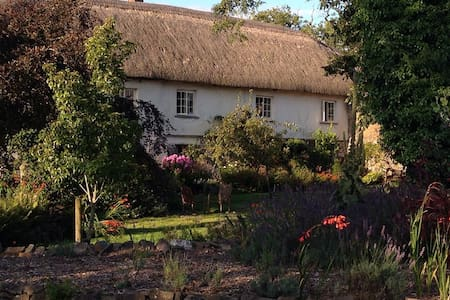 Luxury Thatched Farmhouse set in beautiful gardens - Casa