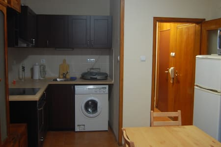 The appartment is in the center of Bourgas 5 min away from the main street and 5 min away from the sea garden and the beach. There is no elevator in the building.  If rented for longterm (at least a year) the rental price is 350E.