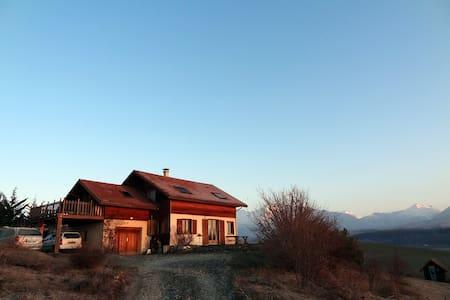 Ravissante maison dans les Alpes - Manteyer