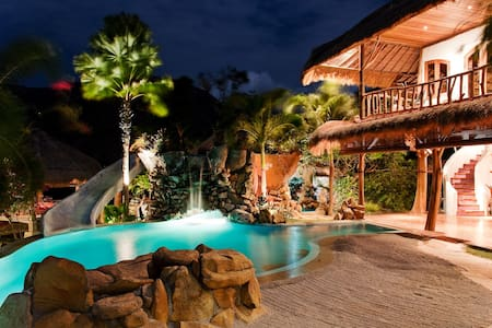 Katana Villa with Waterslide & View - Villa