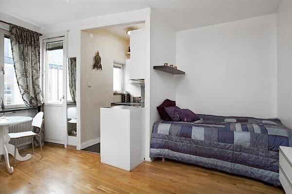 Идеи для ремонта маленькой однокомнатной квартиры. дизайн кв.