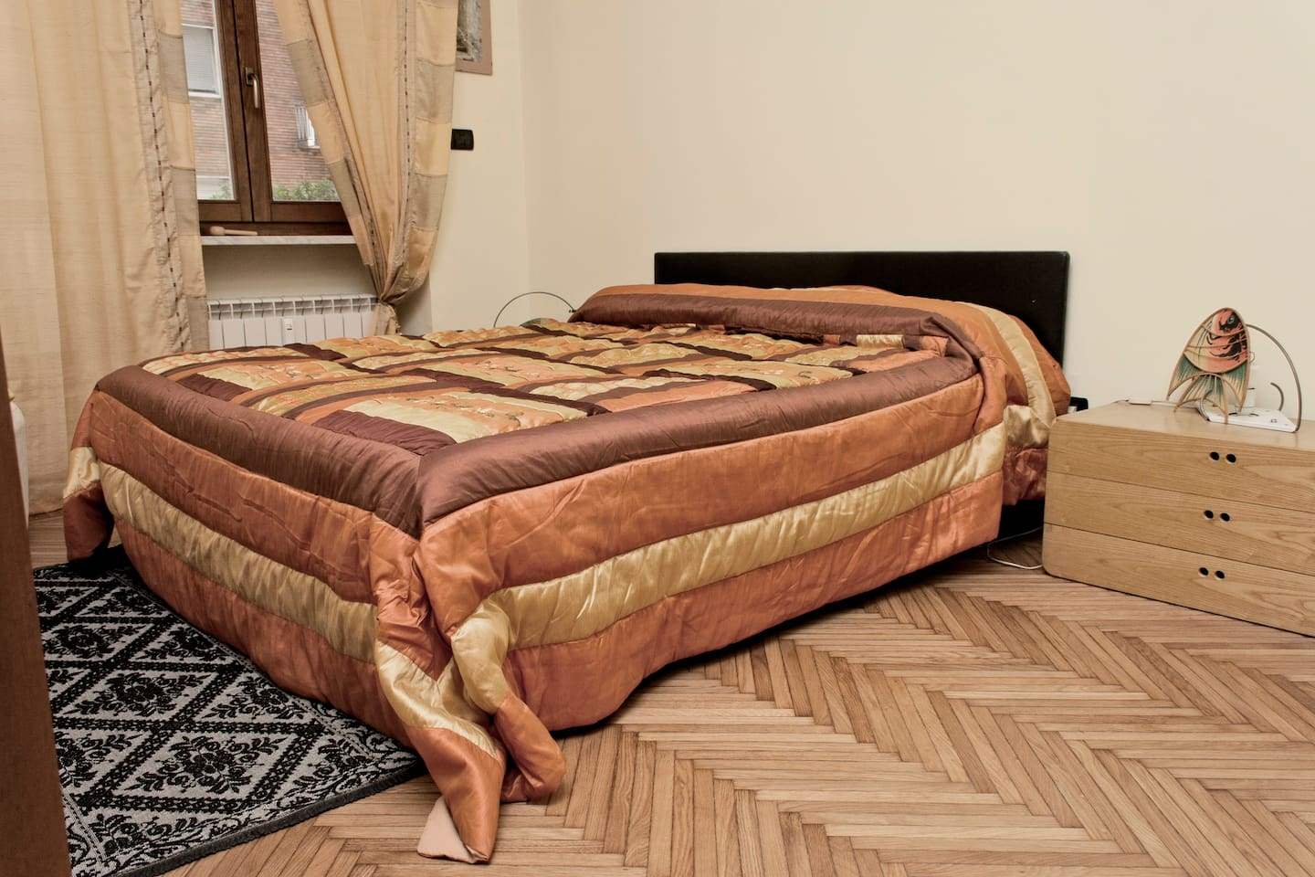 La camera con letto matrimoniale  - The room with doublebed