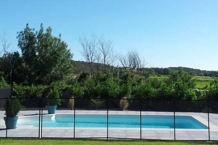 Belle villa,à 15m de Montpellier,30m des plages - Les Matelles