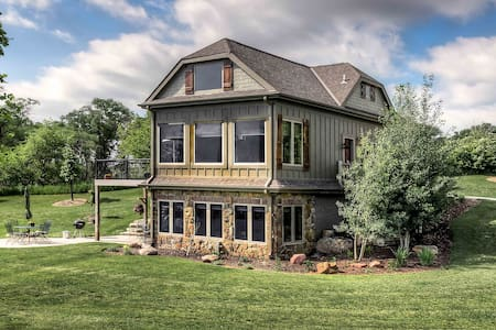Luxury cabin overlooking lake! - Wahoo, Omaha - Cabin