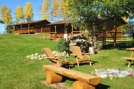 Cozy Cabins at Ride the Wind Ranch - Rocky Mountain House