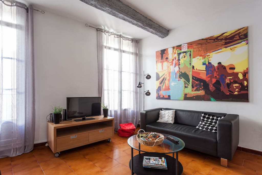 Charmant appartement CV avec garage