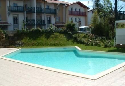 T2 avec piscine, terrasse, internet - Hendaye - Wohnung