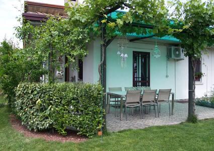 Cozy home,quiet zone,privat garden. - Sirmione - Casa