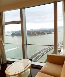 厦门世茂双子塔鼓浪屿海景房,近厦大,南普陀,沙坡尾。 - Xiamen Shi - Apartment