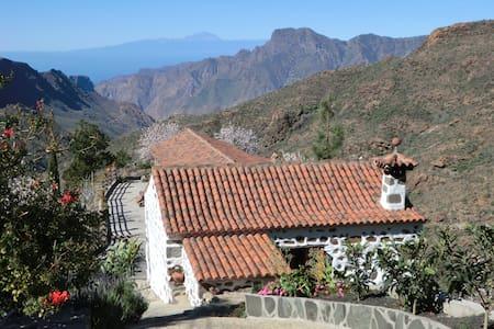 Casa Rural para familias y grupos de amigos. - Tejeda - House