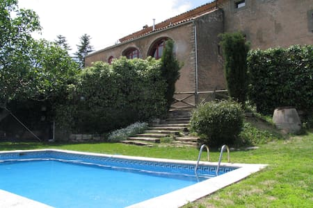 Historic house private swimming pool & bbq, BCN - Casa
