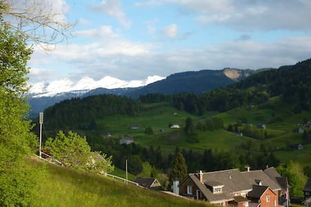 Cosy studio in the Swiss mountains - Ebnat-Kappel - Bed & Breakfast
