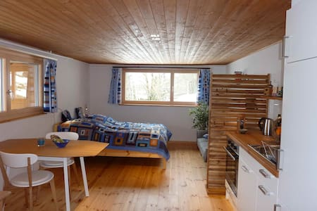 Cosy studio in the Swiss mountains - Bed & Breakfast