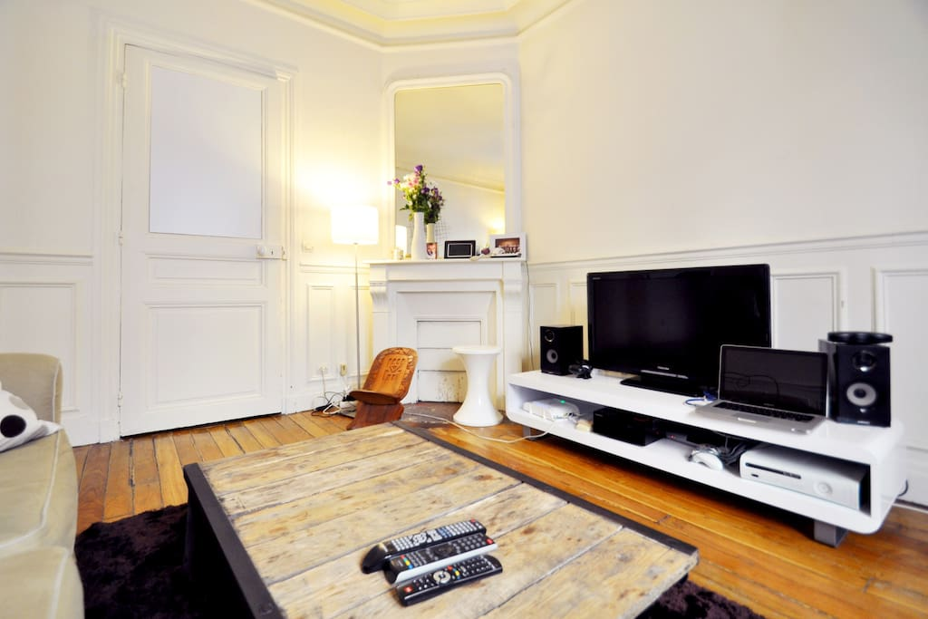 2bedroom flat 48m2 near Bastille