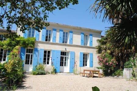 maison de vacances grand confort - 4/6 personnes - Chenac-Saint-Seurin-d'Uzet
