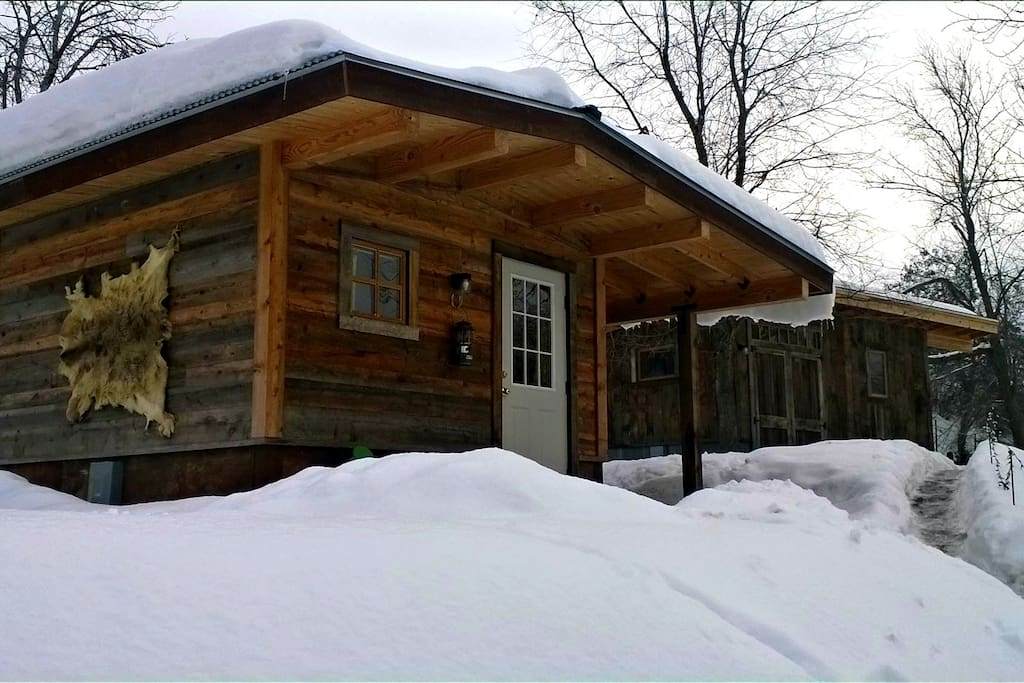 Mining shacks cabins for rent in winthrop for Winthrop cabin rentals