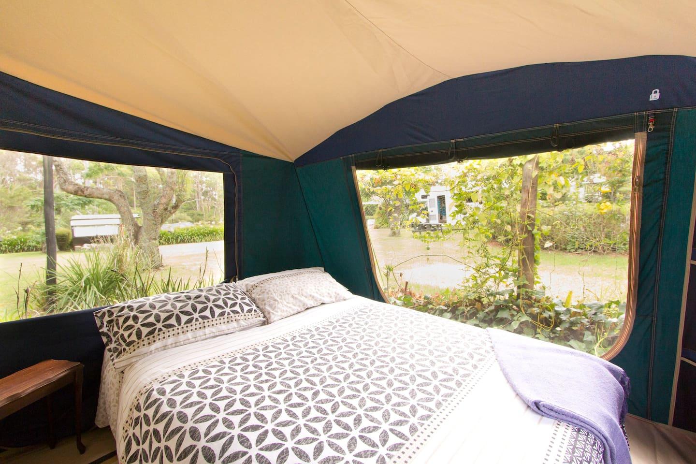 Family Deck-Mounted Safari Tent