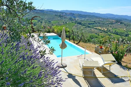 Design Villa in Tuscan Countryside
