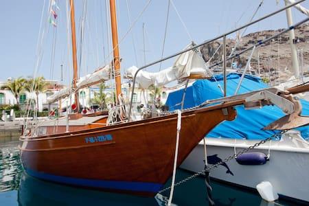 Gemütliches Segelboot -Gran Canaria - Boot