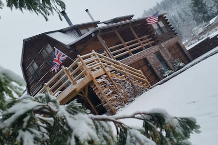 Luxury Log Cabin near Hood River - Mt. Hood - Parkdale