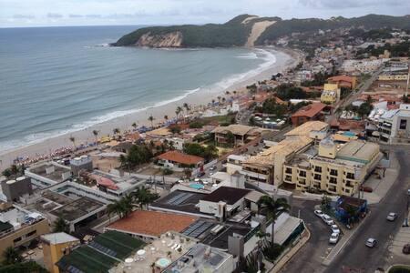Gorgeous view of Ponta Negra beach