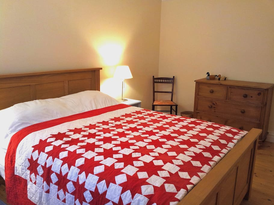Large Double Room with chest of drawers and wardrobe