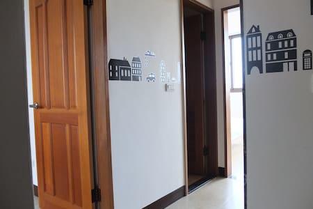 機場免費接送4A 2人房 - 大園 - Appartamento