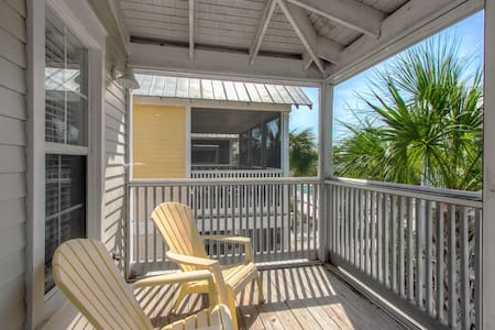 Barefoot Cottages B28-2BR-AVAIL12/15-12/21 -RJFunPass*PoolViews*15%OFFThruDec31* - Port St Joe - Dom