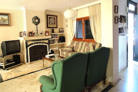 Spacious and comfortable house with