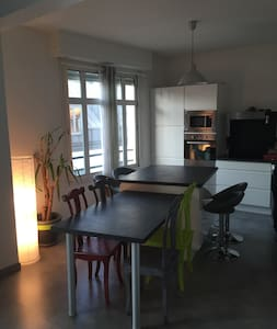 Loft cosy-Hypercentre Pau-Parking - Apartment