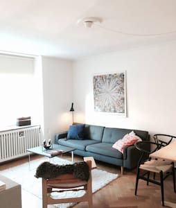Good location. Safe area. Close to metro(Forum St.) and busses. Close to the center of CPH(  Acces to nice bath and toilet and kitchen where you can cook your own meals.