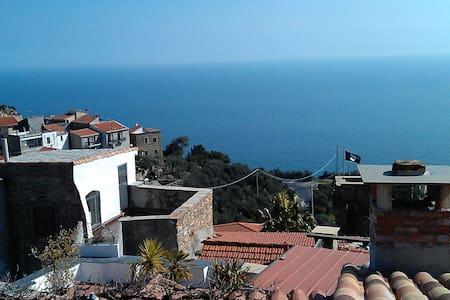 Large comf. panoramic sea view - Cipressa